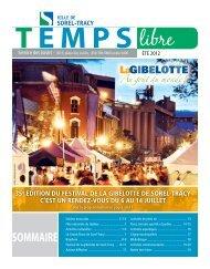Temps libre - Saint-Joseph-de-Sorel