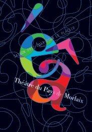 Programme saison 2012/2013 - Théâtre du Pays de Morlaix