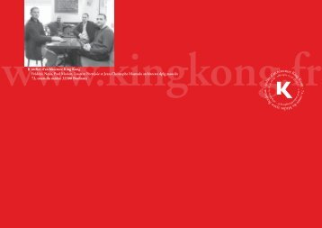 atelier d'architecture King K ong - 72, cours du Médoc 33 30 0 ...