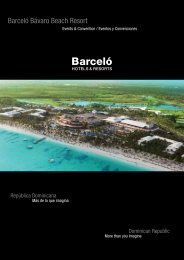 bavaro-convention-center - Barceló Hotels & Resorts