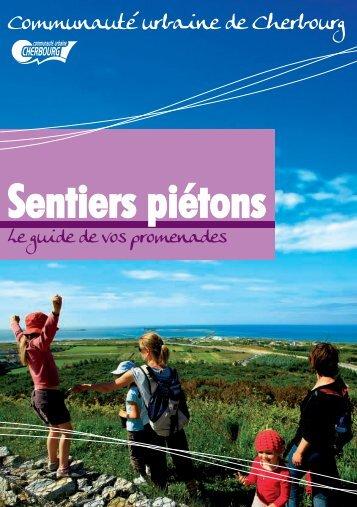 Guide sentiers piétons - Communauté urbaine de Cherbourg