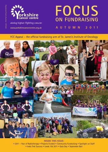 Autumn 2011 - Yorkshire Cancer Centre