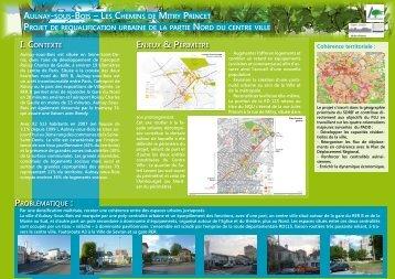 AulnAy-sous-Bois – les Chemins de mitry PrinCet Projet de ...