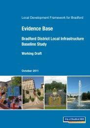 Bradford District Local Infrastructure Baseline Study - working draft ...