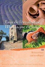 Pays de Forcalquier Montagne de Lure - Office de tourisme du Pays ...