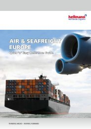 Air & SeAfreight europe - Hellmann Worldwide Logistics