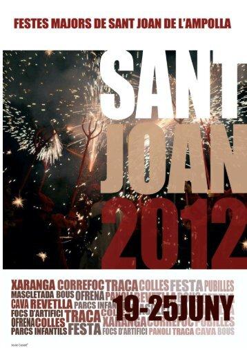 Annual festival of Sant Joan 2012