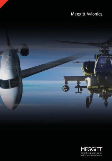 Product and capability brochure - Meggitt Avionics
