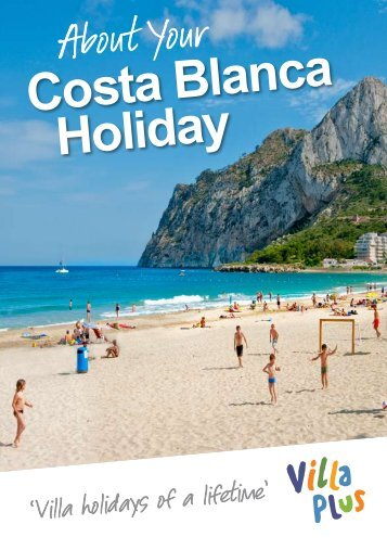 Costa Blanca Holiday Guide - VillaPlus.com