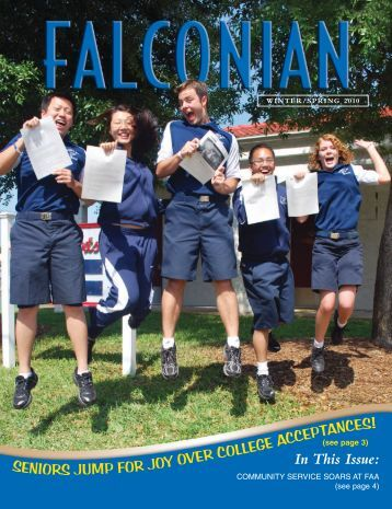 In This Issue - Florida Air Academy