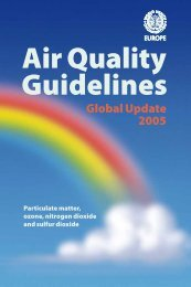 Air Quality Guidelines Global Update 2005 - World Health ...