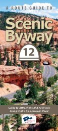 A ROUTE GUIDE TO - Utah's Scenic Byway 12