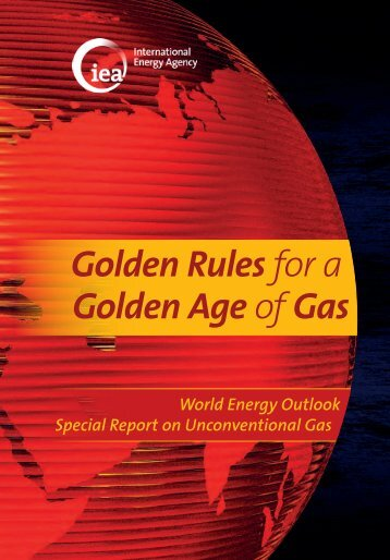 Golden Rules for a Golden Age of Gas - World Energy Outlook