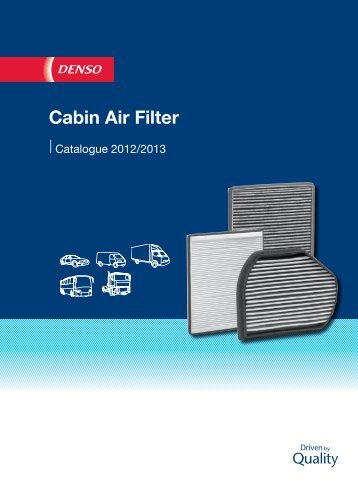 Cabin Air Filter - Denso-am.eu