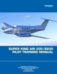 Super King Air 200/B200 Pilot Training Manual - Warmkessel.com