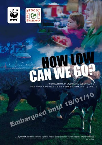 How low can we go? - WWF UK