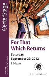 For That Which Returns Saturday, September 29, 2012 - Reston ...