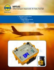 Ultra Compact Automatic Air Data Test Set