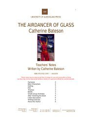 THE AIRDANCER OF GLASS Catherine Bateson - University of ...
