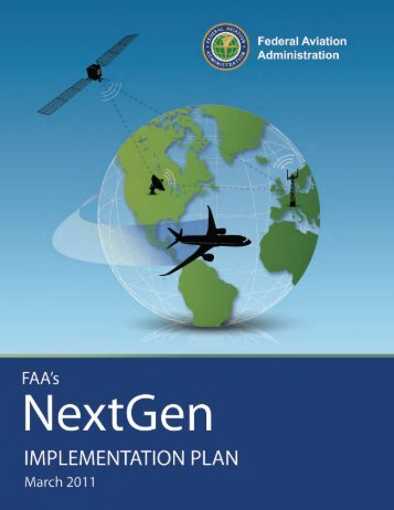 NextGen Implementation Plan 2011 - FAA
