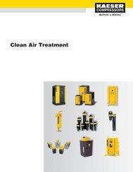 Clean Air Treatment - Kaeser - Kaeser Compressors