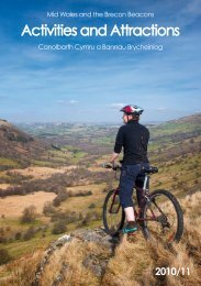 Activities and Attractions - Explore Mid Wales - Powys County Council