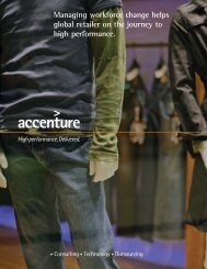 Managing workforce change helps global retailer on the journey to ...