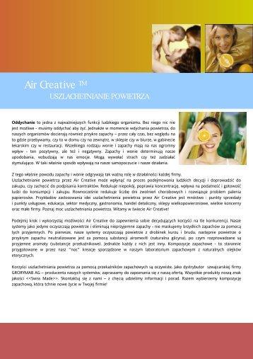 Air Creative Classic Line i Premium Line