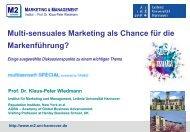 Multi-sensuales Marketing als Chance für die ... - Multisense