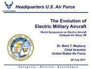 The Evolution of Electric Military Aircraft - AVweb