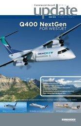 Q400 NextGen airliner on multi-country tour - Bombardier