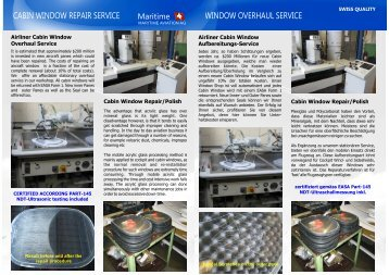 Cabin Window Shop.cdr - MARITIME - Aircraft Services & Surface ...