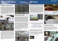 WINDOW REPAIR SERVICE NDT SERVICES - MARITIME - Aircraft ...