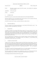 aircraft service bulletin - British Microlight Aircraft Association