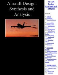 Aircraft Design, Synthesis and Analysis - Ultraligero.Net