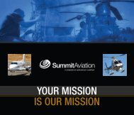 Summit Aviation Brochure - Greenwich AeroGroup