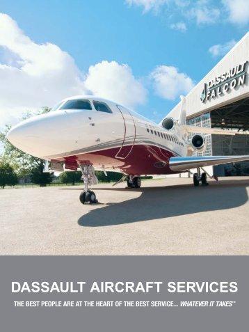 Dassault Aircraft Services Brochure - Dassault Falcon