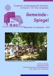 Gemeinde- Spiegel - Home - T-Online