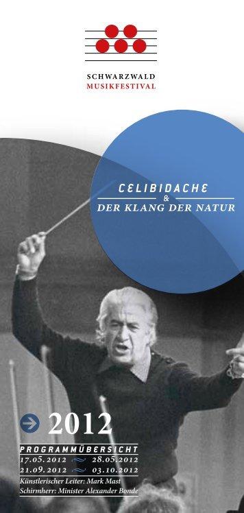 Sergiu Celibidache - Schwarzwald Musikfestival