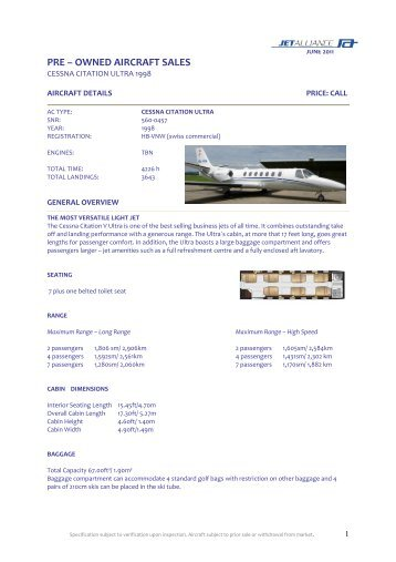 pre – owned aircraft sales - GE Capital Solutions