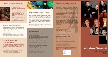 Konzerte 2012 - Kulturkreis Oberursel eV