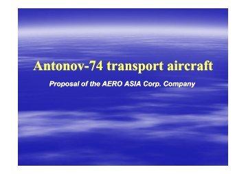 For SALE Antonov-74 [Режим совместимости]