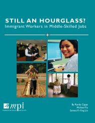 Still an Hourglass? - Migration Policy Institute