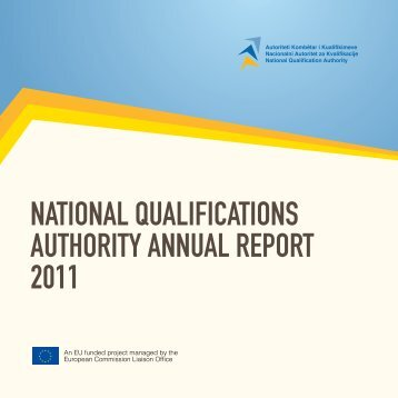 national qualifications authority annual report 2011 - Akk-ks.net