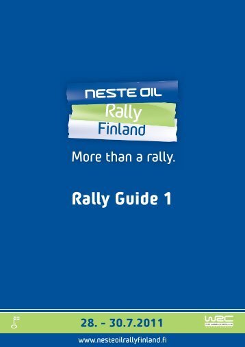Rally Guide 1 - Neste Oil Rally Finland