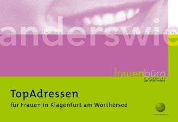 Top-Adressen für Frauen - Klagenfurt