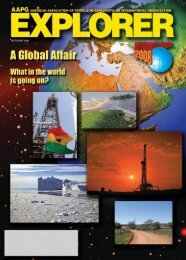 October 2008 Explorer - American Association of Petroleum ...