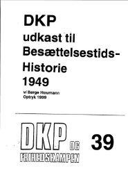 DKP og Frihedskampen Bind 39
