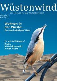 Wohnen in der Wüste - Walpurgis-Verlag