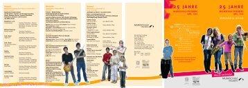 25 JAHRE 25 JAHRE - Musikschule Friedberg